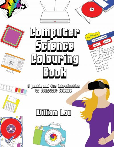 Comp Sci Colouring Book Cover