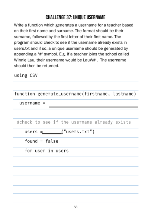 LBOJA Page 58 Sample